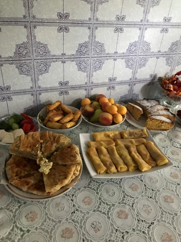 Amazing food provided by mama gazdă